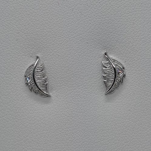 Siver stud earrings
