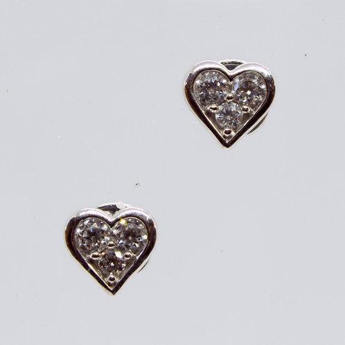 18ct gold Diamond stud earrings