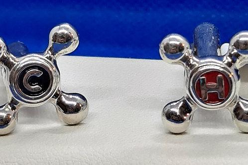 Silver Tap Water Cufflinks