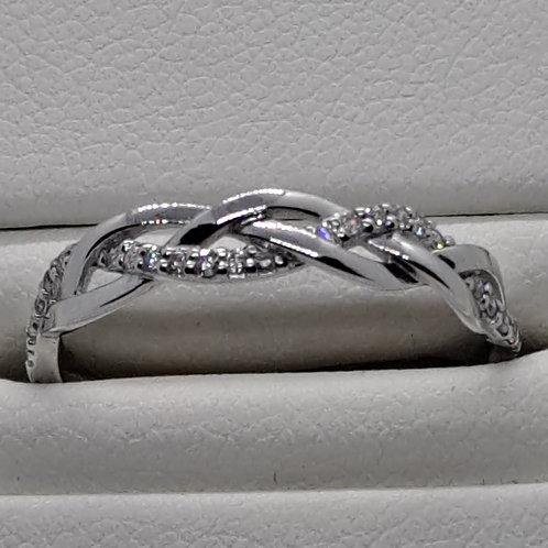 * 9ct gold Diamond eternity ring