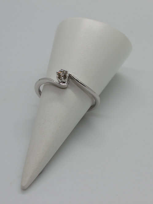 9ct gold Diamond Single Stone ring