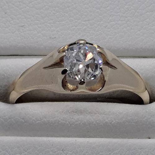 * 18ct gold Diamond Single Stone ring