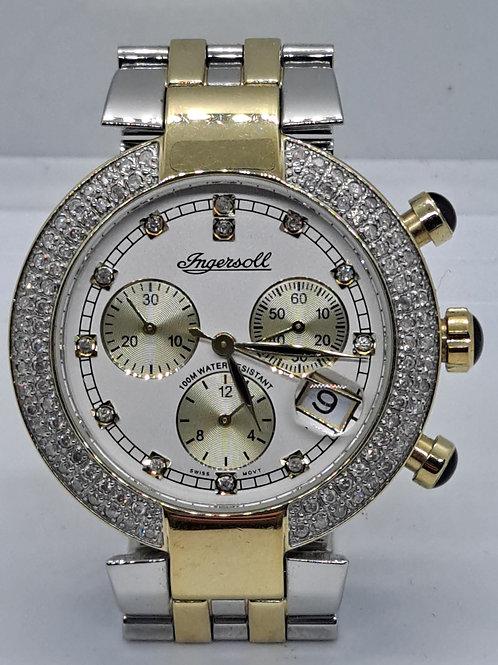 Ingersoll diamond set watch
