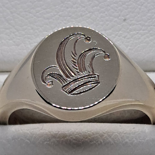9ct signet ring