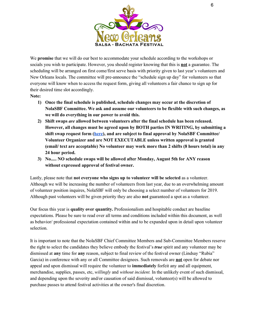 2. Volunteer Intro Letter & Hold Harmless