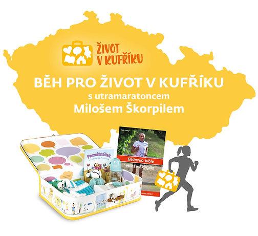 A4 Běh pro Život s kufříkem s Milošem Šk
