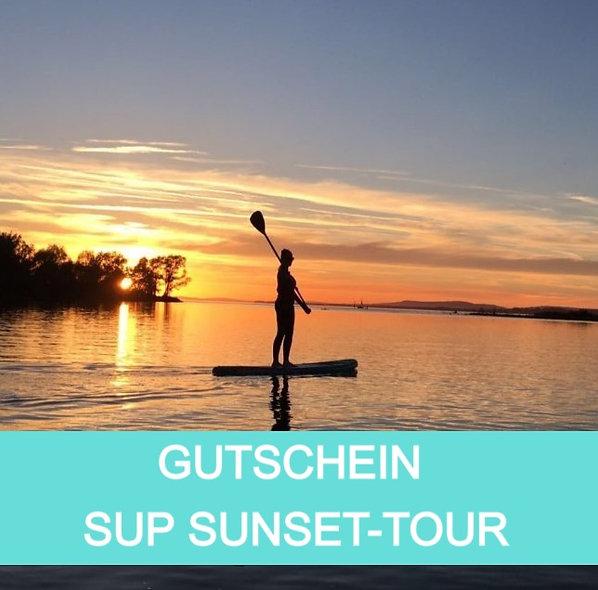 Gutschein SUP Sunset Tour