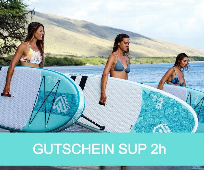 Gutschein SUP 2h
