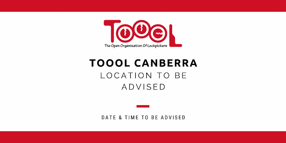 TOOOL Canberra Meetup