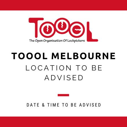TOOOL Melbourne Meetup May
