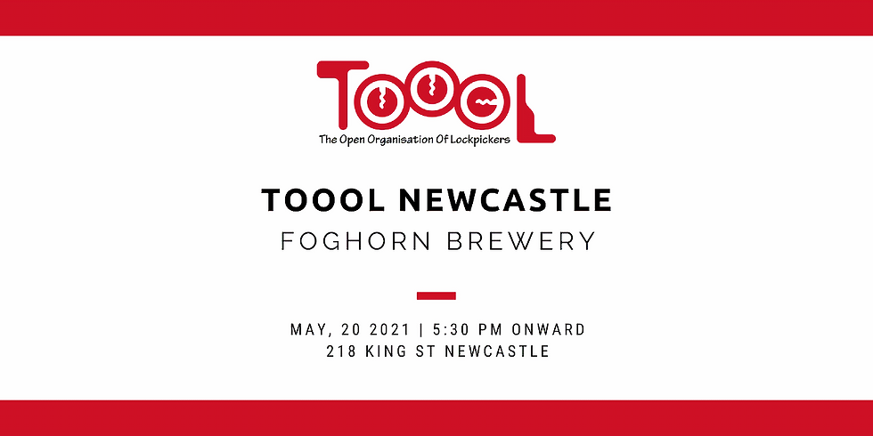 TOOOL Newcastle Meetup May