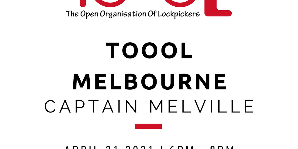TOOOL Melbourne Meetup April