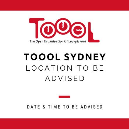 TOOOL Sydney Meetup August