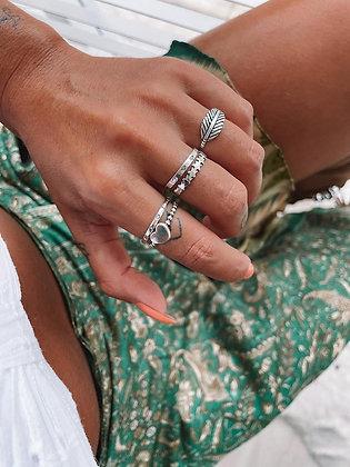 Anel em prata 925  Estrelas