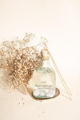 Difusor Peace and Light + Quartzo Branco