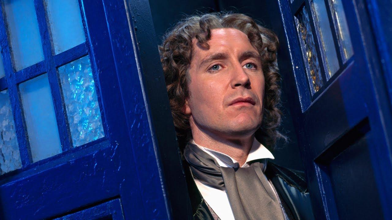 Doctor Who TVM Tardis