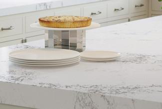 Caesarstone Empira White Quartz worktop