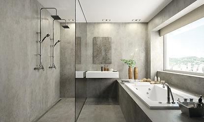 Bathroom quartz top