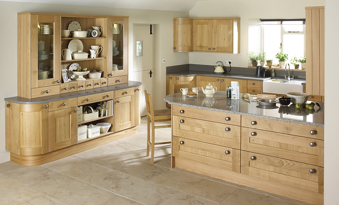 Shaker & Traditional Timber kitchen