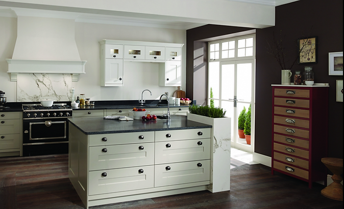 Traditional Bespoke Painted kitchen