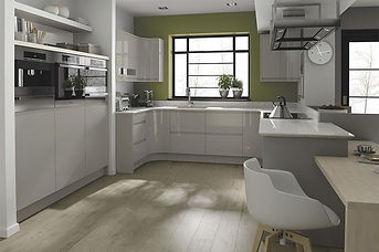 Remo Gloss Cashmere. J Pull Handle, MDF