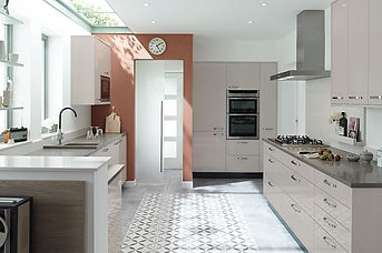 Porter Gloss Cashmere.Flat MDF Door with