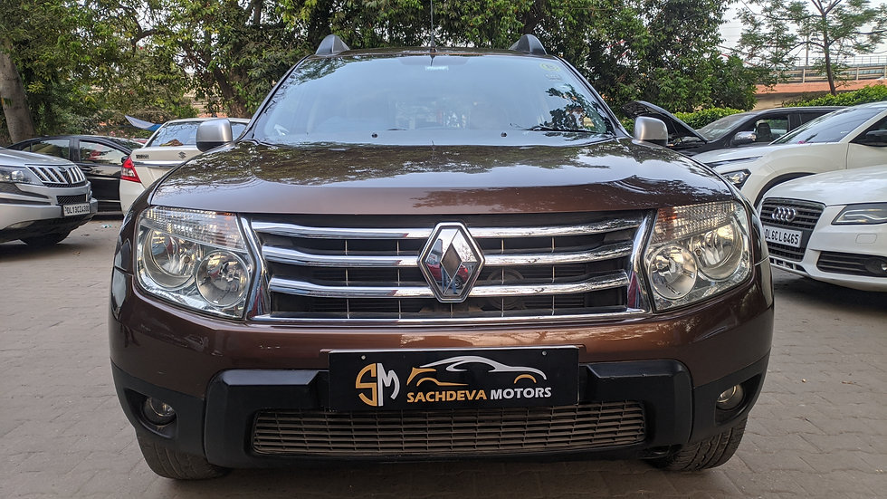 Renault Duster RxL 110Bhp 2015