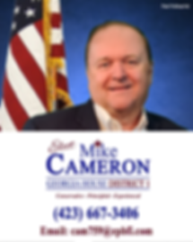 Mike Cameron for House District 1 GA_Alt
