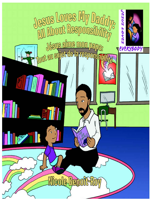 Jesus Loves My Daddy - English/French eBook