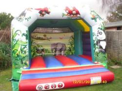 Jungle Jumper Bouncy Castle