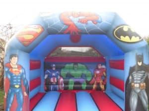 Super Heores Bouncy Castle