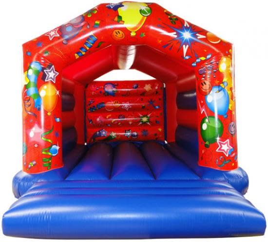 Big Red and Blue Bouncer