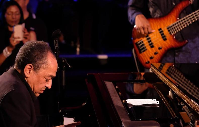 creole jazz club with Alain Jean-Marie