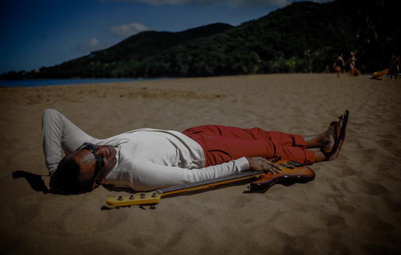 Grande-Anse Beach, Guadeloupe