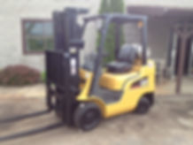 Cat Forklift, Cat, Pneumatic Forklift, forlift service, equipment rental, forklift parts