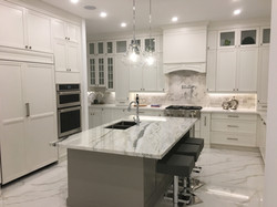 Maple white kitchen