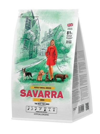 Savarra гипоаллергенный для взрослых собак мелких пород, с уткой и рисом
