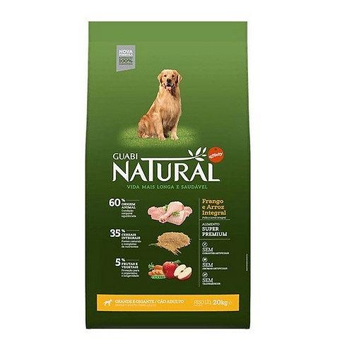 GUABI NATURAL сухой корм для собак крупных пород с цыпленком и рисом