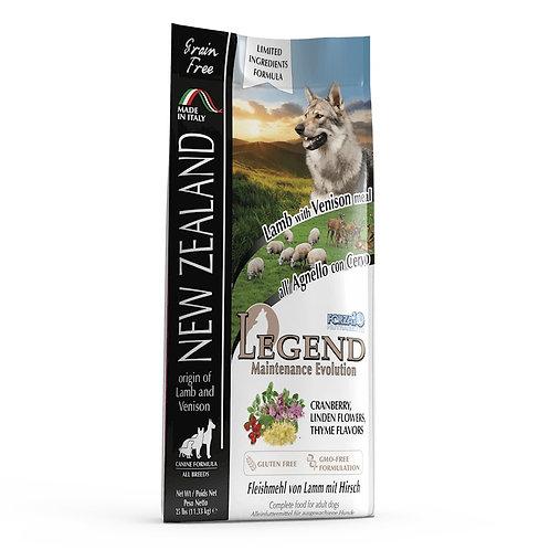 FORZA10 LEGEND NEW ZEALAND ПОЛНОРАЦИОННЫЙ СУХОЙ БЕЗЗЕРНОВОЙ для взрослых собак
