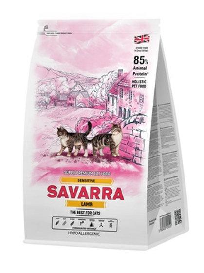 Savarra гипоаллергенный для кошек с чувствительным пищеварением, ягнёнок и рис