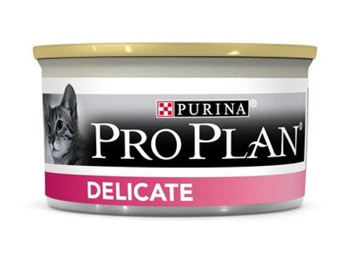 Purina Pro Plan для взрослых кошек с чувствительным пищеварением, индейка, мусс