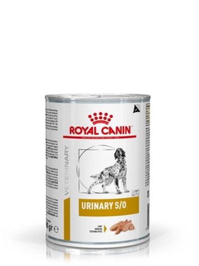 Royal Canin veterinary urinary s/o консервы для собак при мочекаменной болезни