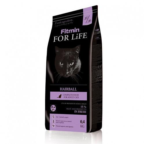 Fitmin Cat For Life Hairball Корм для длинношерстных кошек