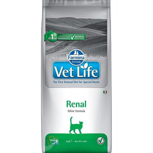 FARMINA Vet Life Renal  для кошек при почечной недостаточности