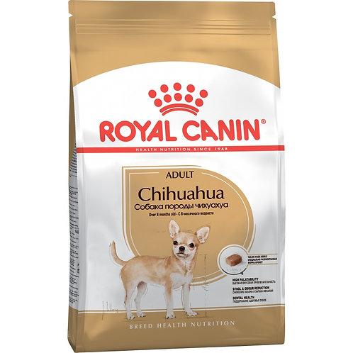 Корм Royal Canin Chihuahua Adult для взрослого чихуахуа с 8 месяцев