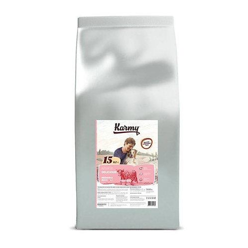 Karmy Delicious Medium & Maxi корм для привередливых собак средних и крупных