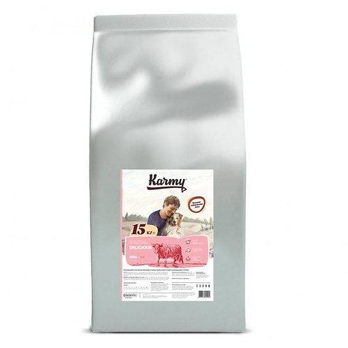 Karmy Delicious Mini Карми Сухой корм для привередливых собак мелких пород с тел