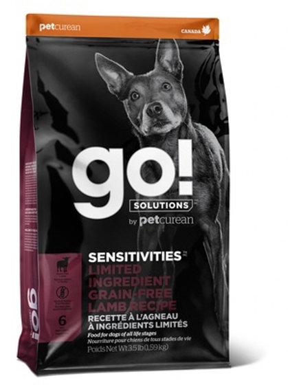 GO sensitivities lamb Гоу беззерновой для щенков и собак, с ягненком для чувстви