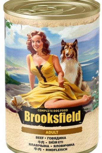 Brooksfield корм для собак, с говядиной и рисом