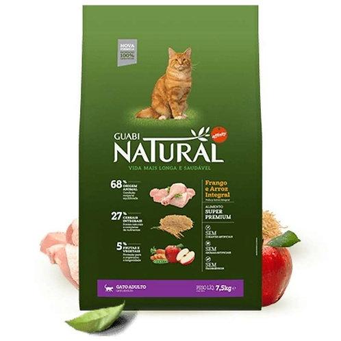 Guabi Natural Adult Cat Food  Корм для взрослых кошек с цыпленком и рисом